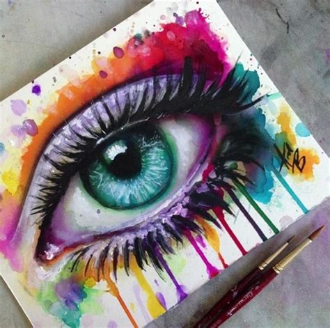 acrylic painting eye pin by votre on painting