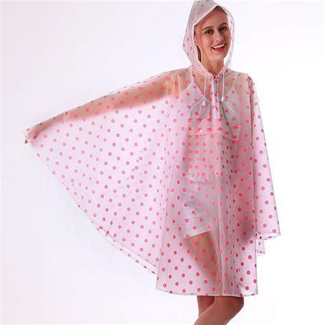 vinyl raincoat pattern online buy wholesale pink plastic raincoat from china pink
