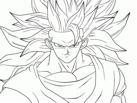 imagenes de goku para colorear cartoon coloring dibujos para colorear san goku super