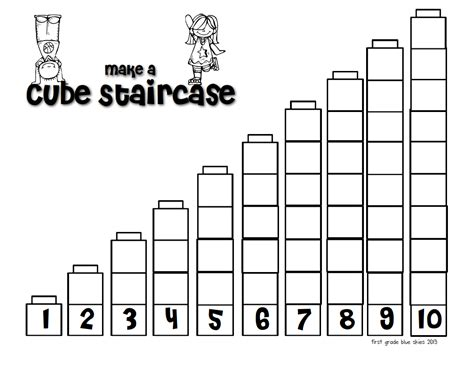 pattern activities with unifix cubes kindergarten measurement worksheets using unifix cubes