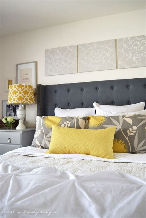 Diy Upholstered Headboard With Wings by Danielle Oakey Interiors Diy Tufted Headboard With Wings