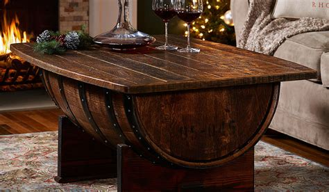 whiskey barrel coffee table 10 gifts for whiskey muted