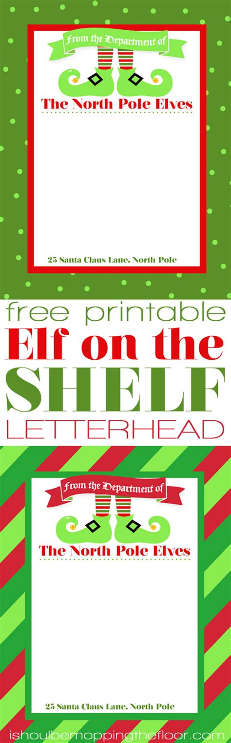printable elf letterhead free printable elf on the shelf letterhead letterhead