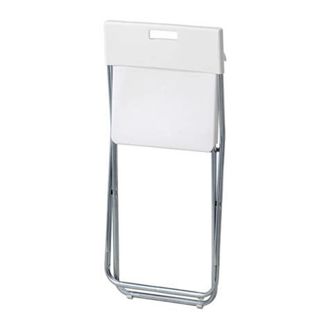 Kursi Lipat Ikea ikea r gunde folding chair kursi lipat steel t 78cm
