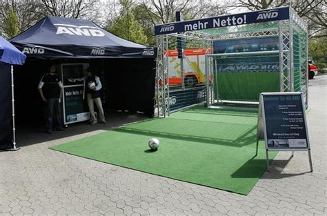 soccer interactive kick point interactive soccer goal delivers brand messages