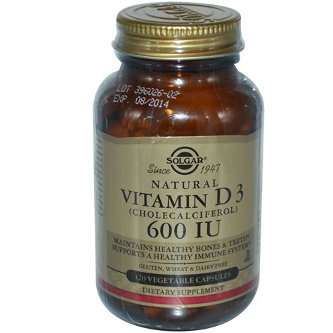 vitamin d l reviews solgar natural vitamin d3 600 iu 120 veggie caps