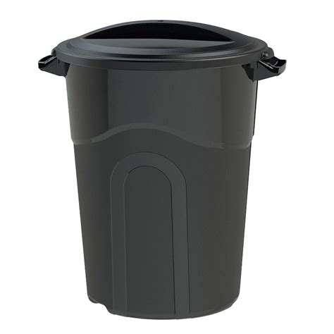 united solutions 32 gal outdoor trash can ti8019 the