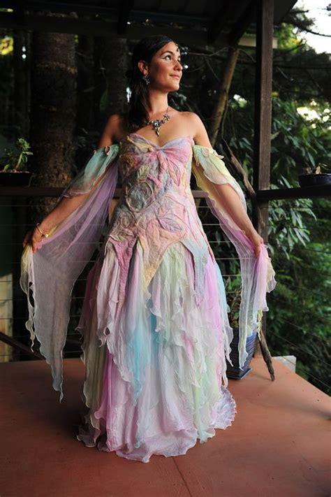 romantic pastel rainbow wedding dresses ideas designers