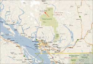 maps of columbia canada vancouver