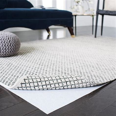 Rug Pad For Carpet Carpet by Carpet To Carpet Area Rug Pad 5 X 8 6928379 Hsn