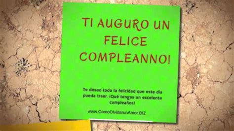 imagenes feliz cumpleaños en italiano feliz cumplea 241 os en italiano youtube