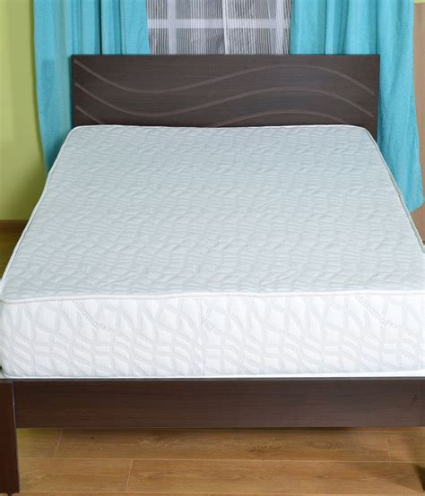 double bed size inches nilkamal double size 1 spring mattress 72x48x8 inches