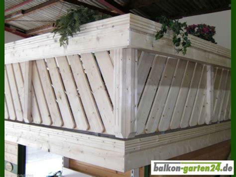 Balkongeländer Holz Einzelteile by Konsole Zwischenholz Geriffelt Douglasie Balkon