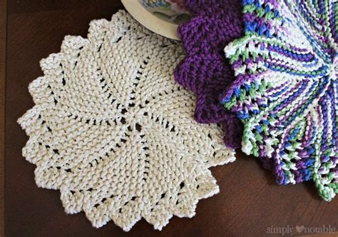 circular dishcloth knitting patterns 1377 best images about dishcloths on free