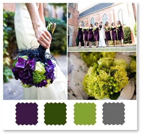 green and gray wedding colors decor or centerpiece ideas for this space weddingbee