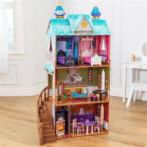 frozen doll house kidkraft disney 174 frozen arendelle palace litenleker se
