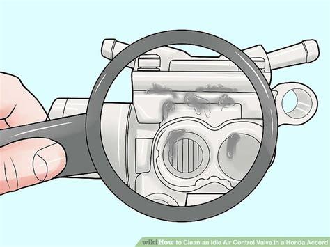 how to clean an idle air valve in a honda accord