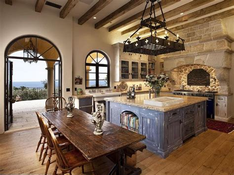 mediterranean kitchen decor mediterranean kitchen with high ceiling simple granite