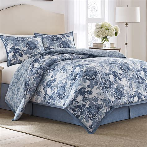 ashley bedding laura ashley ellison comforter set from beddingstyle com