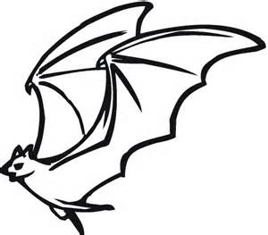 free coloring pages of murcielago drawing pages