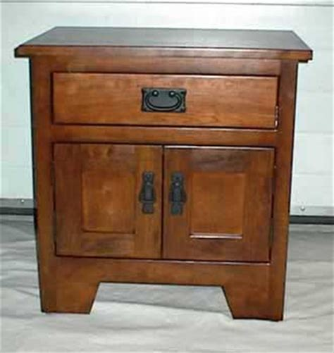 Country Mission Nightstand Amish Crafted - woodloft locally amish custom crafted solid wood