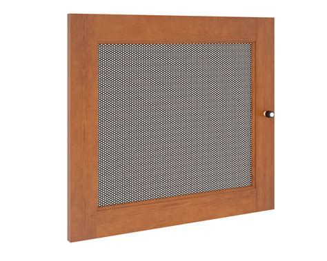 metal cabinet door inserts perforated metal doors perforated steel doors fold open