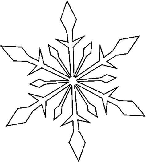 a4 printable snowflake template sněhov 225 vločka předškol 225 ci omalov 225 nky pracovn 237 listy