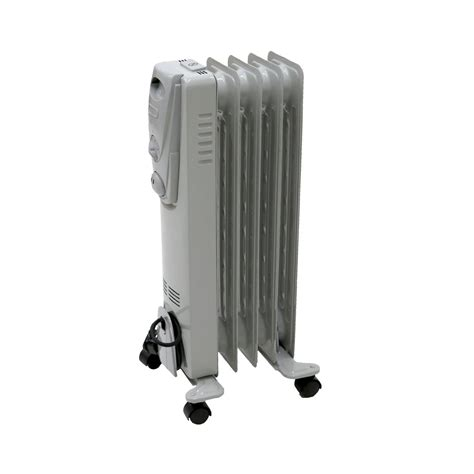 fin portable oil filled radiator electric