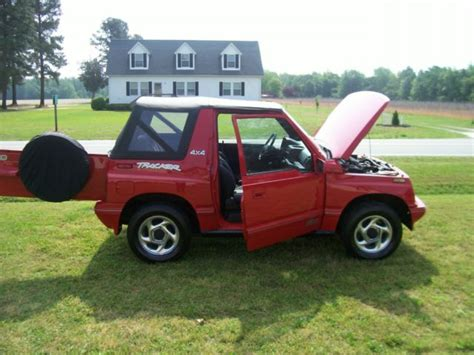 Tracker Jeep 1994 Geo Tracker Convertible Sidekick Jeep Suv Tow For
