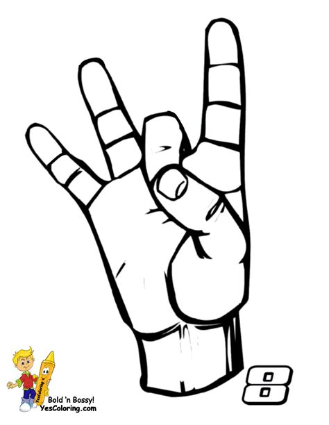 asl numbers 1 100 printable bossy learn sign language american signing free alphabets