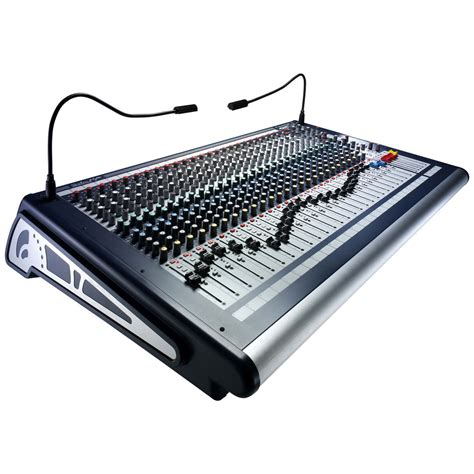 Mixer Soundcraft 32 Channel soundcraft gb2 32 32 channel mixer at gear4music