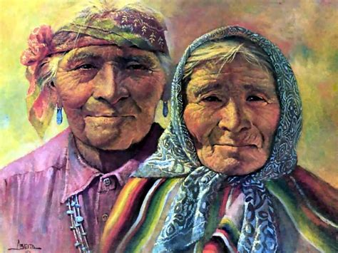painting for elders you are more related to some of your grandparents than