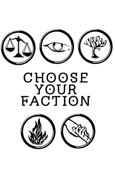 printable divergent quotes divergent choose your faction art print by image