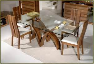 Rectangle Glass Dining Room Tables by Pin Glass Top Rectangle Dining Table On Pinterest