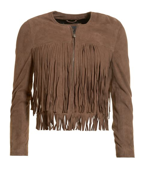 Superdry Suede Bomber Jacket new womens superdry unique sle suede boho fringe bomber