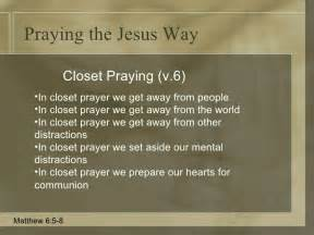 praying the jesus way