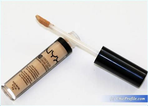 Nyx Hd Concealer Photogenic nyx hd photogenic concealer wand review swatches photos