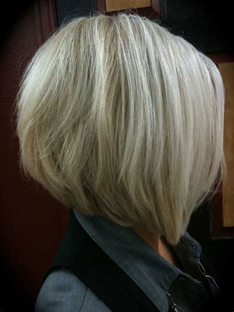 cut sholder lenght hair upside down medium inverted bob hairstyles back view graduated bob