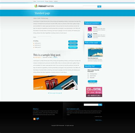 podcast website template vid a podcast template by gyro themeforest
