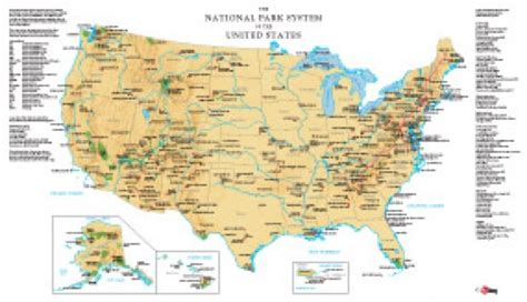 us national parks map map of all national parks images
