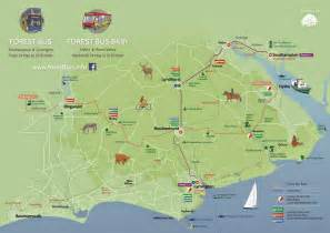 new forest car parks map three new services for the new forest the new forest