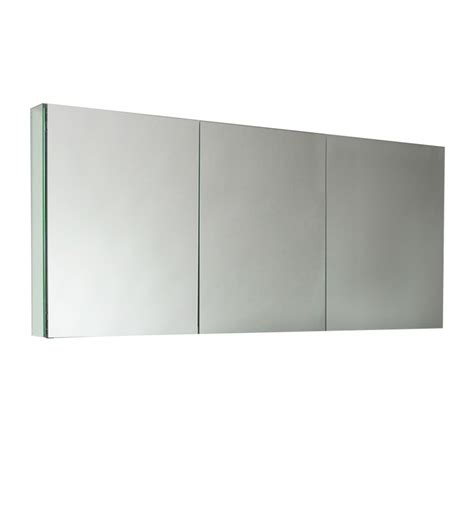 3 Door Medicine Cabinet Mirror Three Mirrored Door Medicine Cabinet Uvfmc8019