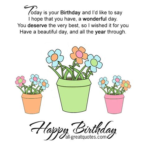 a wonderful birthday quotes quotesgram