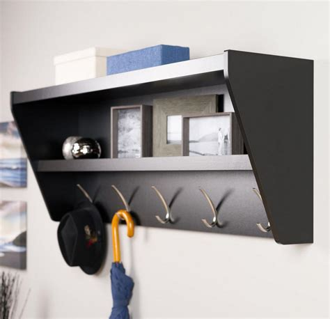 Black Decorative Wall Shelves Decorative Wall Shelves In The Modern Interior Best