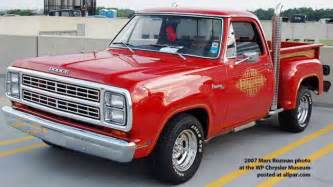 Express Dodge Truck Ready To Roll 1978 Dodge Lil Express