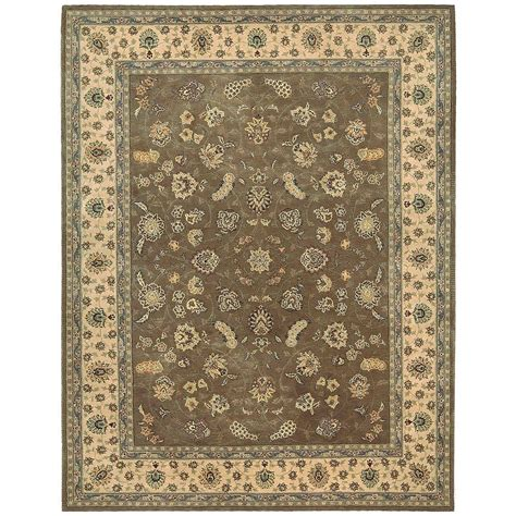 area rug 7 x 9 nourison 2000 olive 7 ft 9 in x 9 ft 9 in area rug 128782 the home depot
