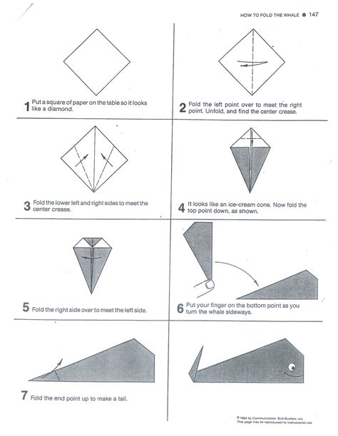 How To Make An Origami Whale - origami claws step by step motorcycle review and galleries