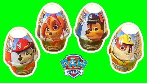 Paw Patrol Eggs Isi 4 4 awesome paw patrol eggs d