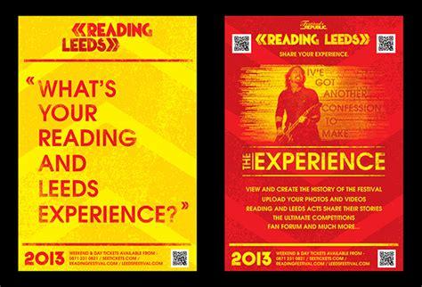 flyer design leeds ycn student awards reading leeds festival on behance