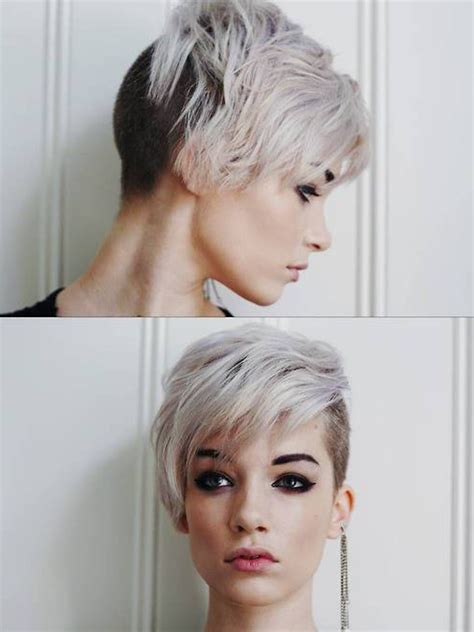 hairstyles on top longer at back 20 shaved hairstyles for women side shave short